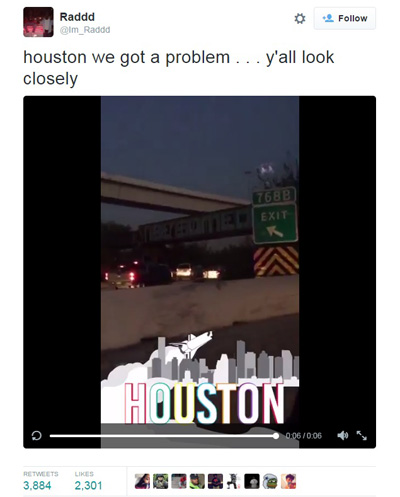 Houston-UFO-Tweet