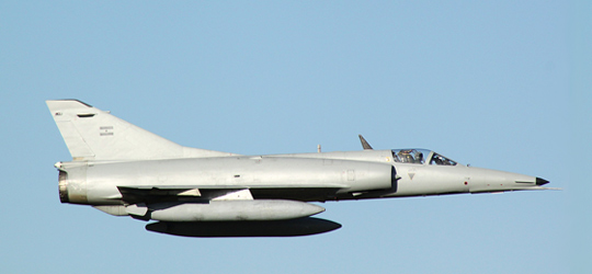 Argentine Air Force IAI Finger during Air Fest 2010 show at Moron Air Base, Buenos Aires Argentina. (image credit: Jorge Alberto Leonardi)