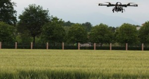 Drones used to investigate Italian Crop Circle (Video)