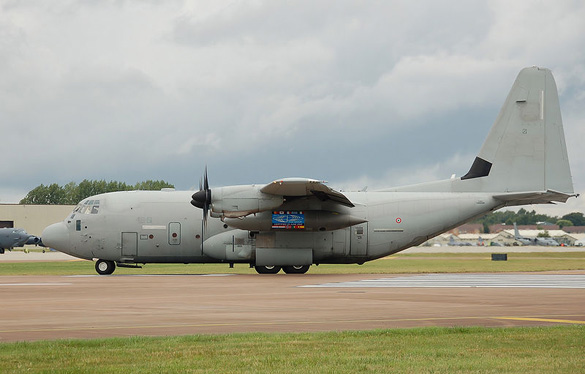 Italian Air Force C-130. (Credit: Arpingstone/Wikimedia Commons)