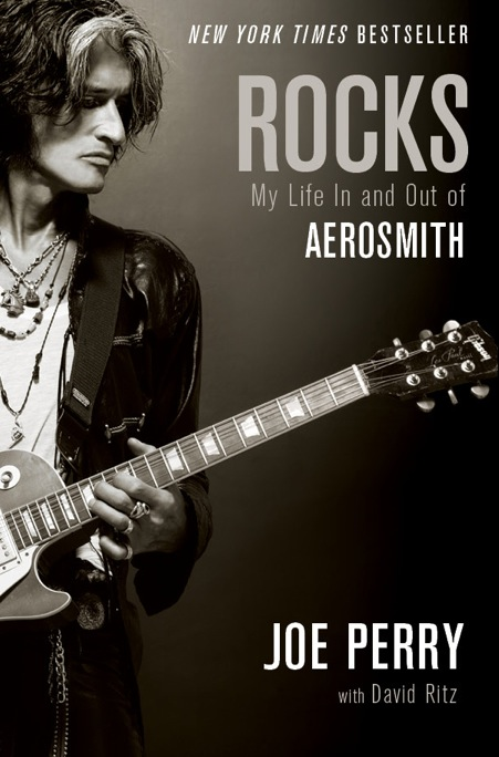 Joe Perry's new book. (Credit: Simon & Schuster)