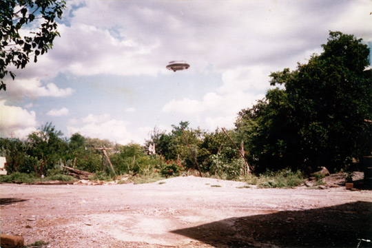 Jose's UFO Photo. (image credit: UFO Photo Archives/OVNI Investigaciones - Santiago Yturria