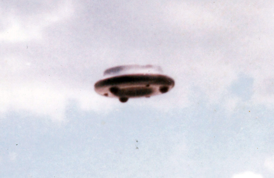 Close up of the object in Jose's UFO photo. (image credit: UFO Photo Archives/OVNI Investigaciones - Santiago Yturria