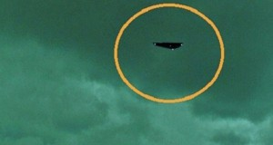 UFO cruises over home near London