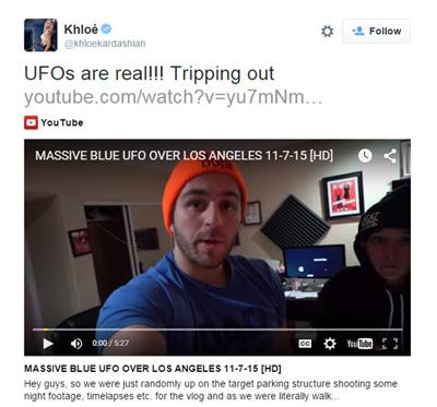 Khloe-UFO-Tweet
