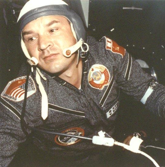 Cosmonaut Valeri Kubasov