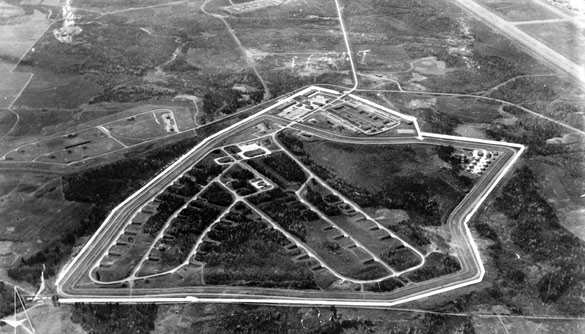 Loring Air Force Base, Weapons Storage Area, 1960s. (Credit: Wikimedia/Library of Congress)
