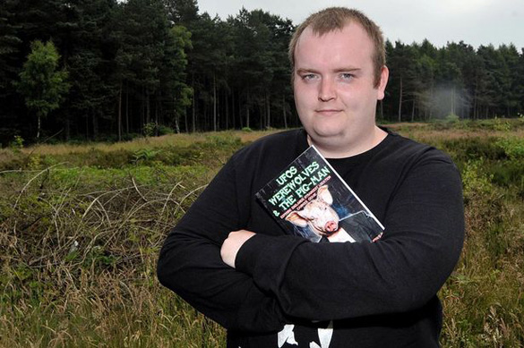 Lee Brickley, author of UFOs Werewolves & The Pig-Man. (Credit: Birmingham Mail)
