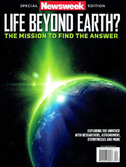 Newsweek special edition covers UFOs and the search for aliens in a positive light