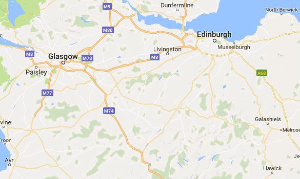 Map of Livingston. (Credit: MUFON)