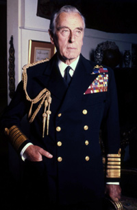 Lord Mountbatten (image credit: Allan Warren)