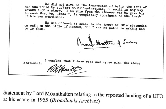 Files on Broadlans UFO Encounter. (image credit: Broadlans Archives) Click image see entire file.