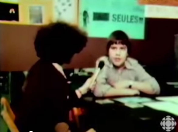 A 15-year-old Denis Coderre, now Montreal's mayor, tells an interviewer about his personal UFO encounter.