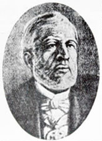 The marquis of Saõ Vicente, ambassador of Brazil in Paraguay who also witnessed the phenomenon (image credit: Edison Boaventura/GUG)