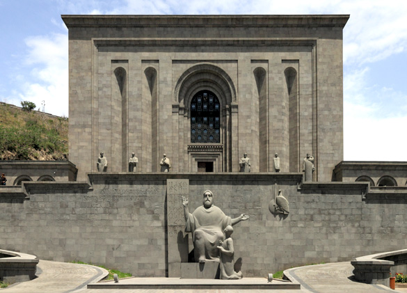 Home of Matenadaran Archives. (Credit: Wikiwand)