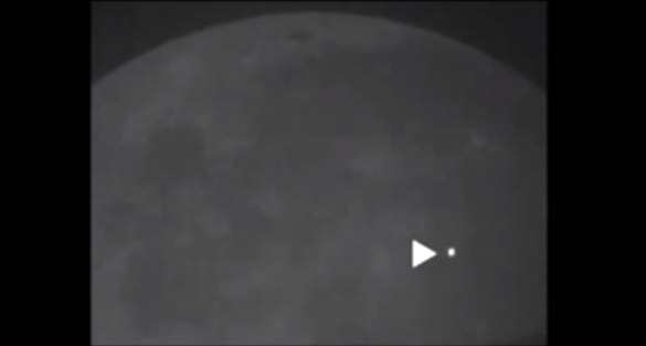Massive explosion on Moon seen from Earth (Video)