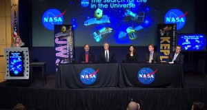 NASA's July 14 panel discussion. (Credit: NASA)