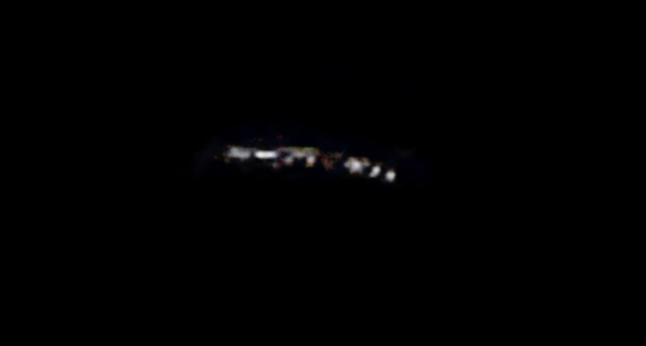UFO in photo over Australia spotted by several witnesses