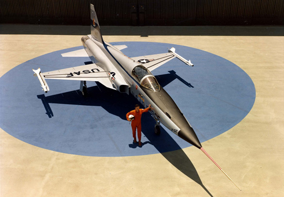 F-5E Jet Fighter (Credit: National Museum of USAF)