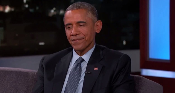Hansen notes that many have reported that Obama denied any knowledge about UFOs or aliens. However, Obama never made that claim. (Credit: Ben Hansen/YouTube)