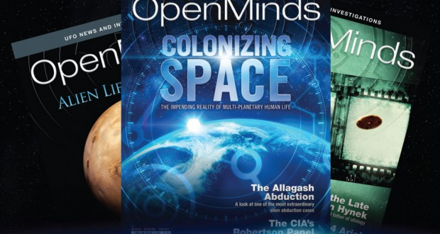 Open Minds UFO magazine subscriptions