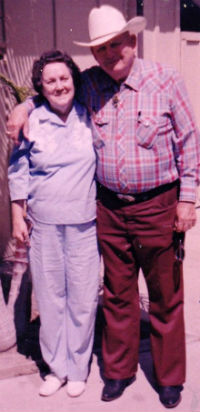 Charlie Forgus and wife Marlene circa 1986.