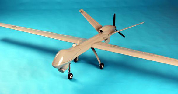 Remote controlled UAV airplane. (Credit: NitroPlanes)