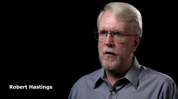 Robert Hasting in UFOs and Nukes: The Secret Link Revealed. (Credit: Robert Hastings/Verifiable Pictures)