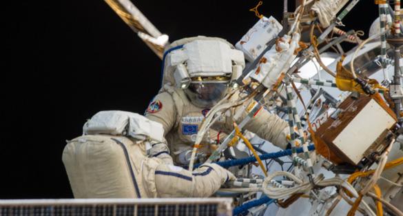 Russian-Spacewalkers-Oleg-Kotov-and-Sergey-Ryazanskiy
