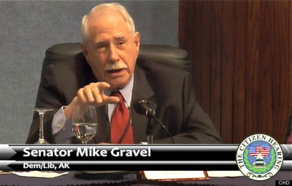 Former Senator Mike Gravel
