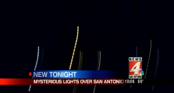 UFOs over San Antonio photographed and videoed this week