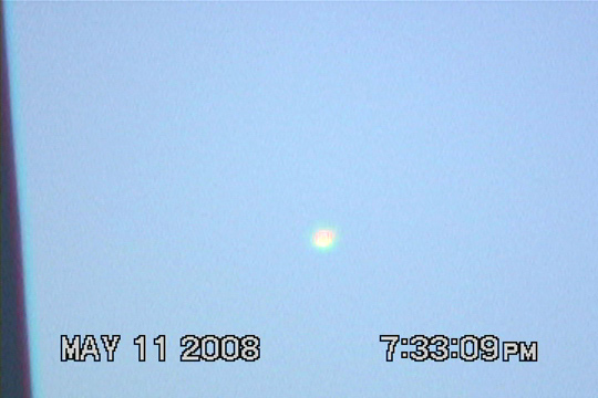 A still image from UFO video taken in 2008. (image credit: Jong han Seo)