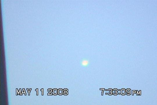 A still image from UFO video taken in 2008. (image credit: Jong han Seo)