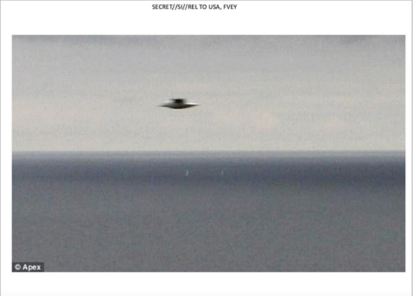 UFO slide 37. Image captured in Cornwall, England on October 1, 2011.