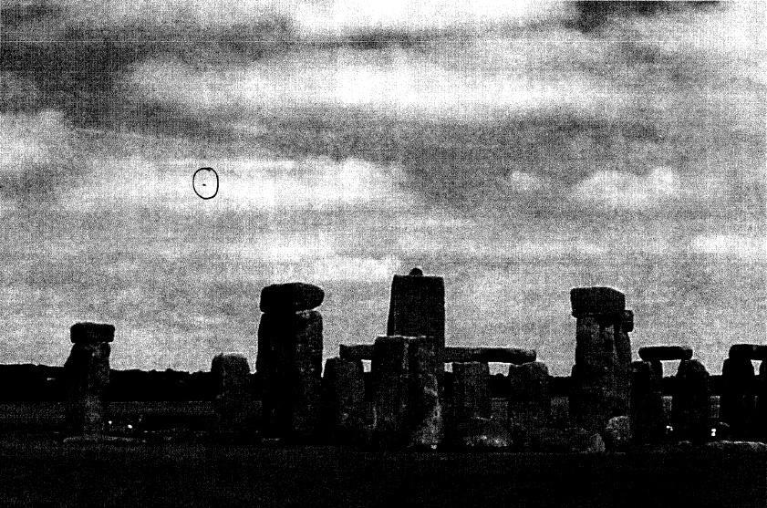 Stonehenge ufo