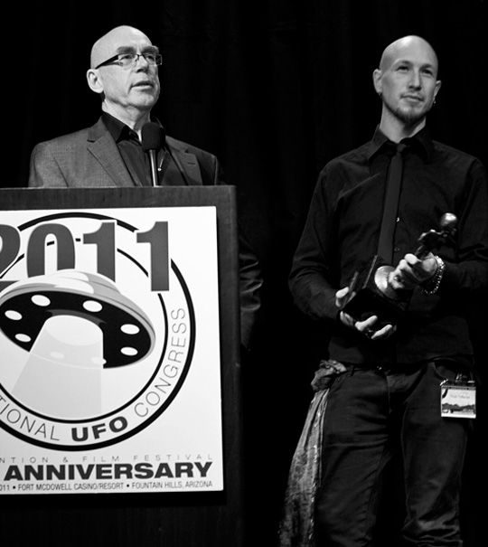 Terje and Truls Toftenes of New Paradigm Films. (image credit: Peter Beste)