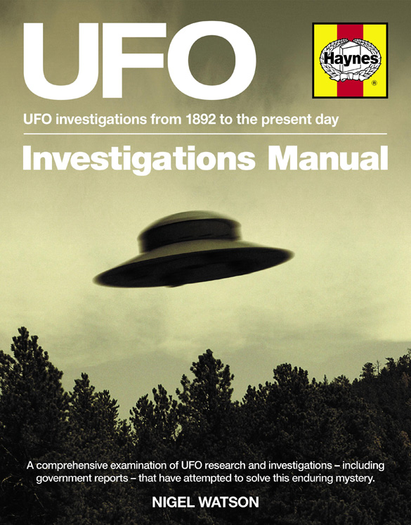 Manual publisher releasing UFO investigation manual ...