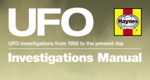 Manual publisher releasing UFO investigation manual