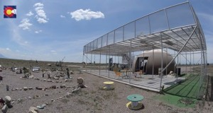 Video tour of the San Luis Valley UFO Watchtower in Colorado
