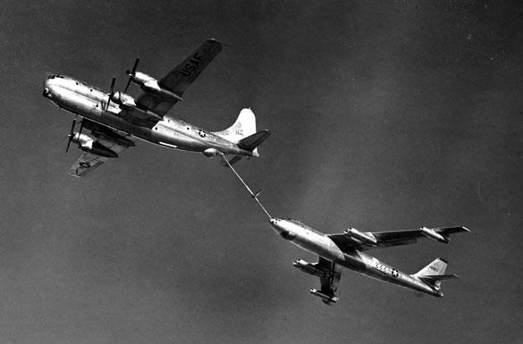 KC-97 refueling B-47