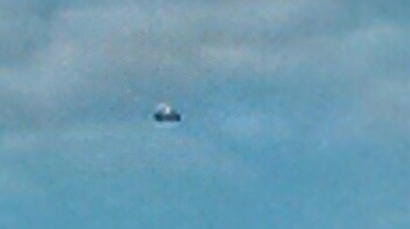 Close-up of UFO in 2nd photo. (Credit: MUFON)