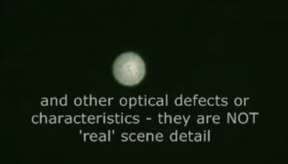 Still image sof Venus out of focus. (Credit: Smartiesfloury/Dailymotion)
