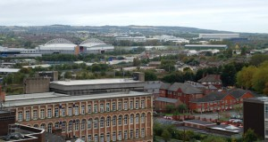 Wigan skyline. (Credit: Wikimedia Commons)