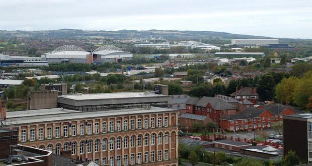 Wigan skyline. (Credit: Wikimedia Commons)