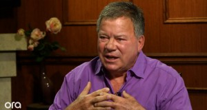 William Shatner on Larry King Now. (Credit: