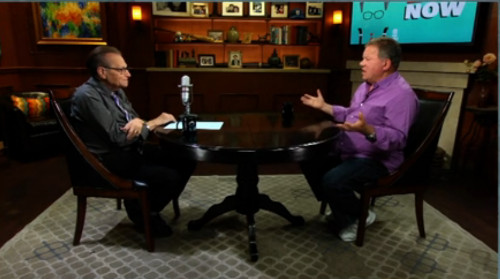 William Shatner on Larry King Now. (Credit: Ora TV)