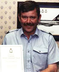Flight Lieutenant Malcolm Williams (Credit: Malcolm Williams)