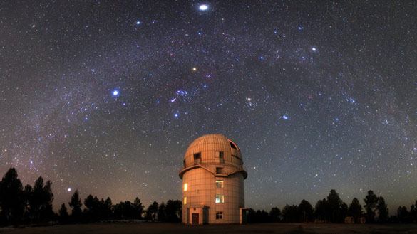 Yunnan Observatory (Credit: Jeff Dai)