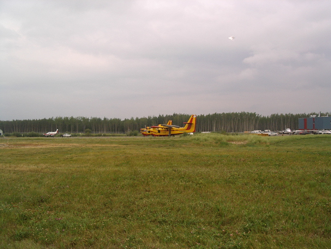 Alberta airport UFO