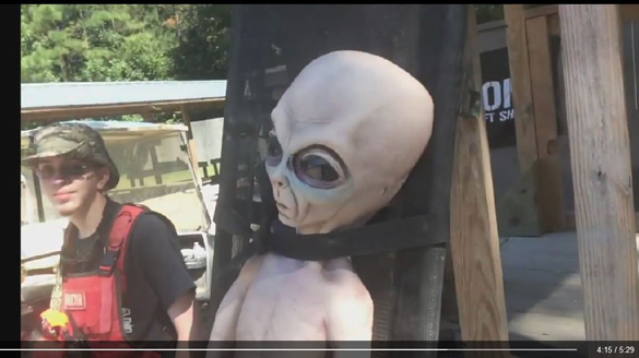 Alien at Ballahack Airsoft. (Credit: Ballahack Airsoft)